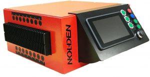 NR8016 kezelőpanelje kibillenthető